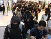 مناهضون للحكومة فى هونج كونج يتظاهرون داخل مراكز التسوق خلال أعياد الميلاد