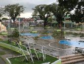 إعصار فانفون يضرب الفلبين وتعليق حركة الملاحة الجوية