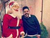 """""""إسماعيل"""" يشارك صحافة المواطن صوره خلال الاحتفال بالكريسماس"""