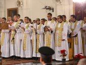 قداس عيد الميلاد المجيد بكاتدرائية العذراء مريم بمدينة نصر