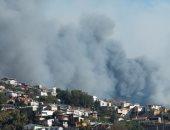 إصابة 24 شخصًا فى حريق لمحل خاص ببيع البنزين المهرّب بتونس