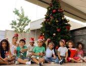 """""""باسنت"""" تشارك بصور احتفال أطفال مدرسة دولية بأعياد الكريسماس من انجولا"""