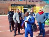 انتهاء الاستعدادات الأمنية لمباراة الأهلى وبلاتينيوم الزيمبابوى باستاد السلام