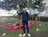 """""""أحمد"""" يشارك صحافة المواطن صوره خلال الاحتفال بالكريسماس"""