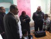 صور.. محافظ كفر الشيخ يتفقد عددا من المنشآت الصحية والتعليمية