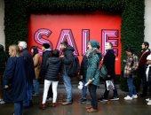 إقبال كبير على المحلات بشارع أكسفورد وسط لندن بسبب خصومات رأس السنة