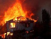 """حريق """"فالباريسو"""" بتشيلى يدمر 200 منزلا ويصيب 12 رجل إطفاء"""