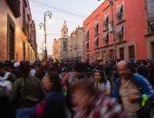 صور.. متظاهرون يحتشدون بالمكسيك احتجاجا على ظاهرة الاختفاء القسرى