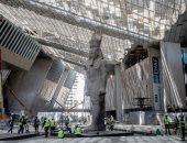"""وزير السياحة والآثار يشهد اللمسات النهائية بقاعتى الملك """"عنخ آمون"""" بالمتحف الكبير"""