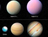 ناسا تكشف السر وراء ثلاثة كواكب بحجم المشترى وكتلة أخف 100 مرة
