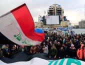 تظاهرات فى العراق احتجاجا على ترشيح أسعد العيدانى لرئاسة الحكومة
