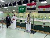 7 ميداليات حصيلة فراعنة الرماية فى البطولة العربية