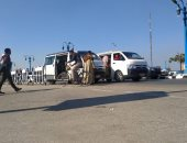 شكو من وجود موقف سيارات ميكروباص عشوائى أمام جامعة أسيوط