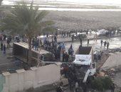 مصرع 29 شخصا وإصابة 653 آخرين فى حوادث مرورية بالجزائر خلال أسبوع
