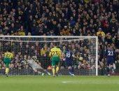 ملخص وأهداف مباراة نورويتش سيتي ضد توتنهام 2-2 في الدوري الإنجليزي