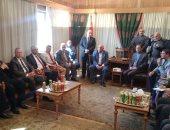 محافظ القليوبية يستقبل وفد البرلمان من لجنتى الإدارة المحلية والسياحة.. صور