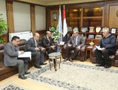 محافظ كفرالشيخ يستقبل رئيس هيئة الأوقاف لمناقشة عدد من الملفات وسبل التعاون المشترك