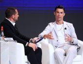 طريقة كريستيانو رونالدو فى مواجهة التحديات مسك ختام  مؤتمر دبى الرياضى