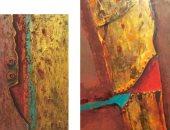 افتتاح معرض فى ظل الأشياء للفنان حسن وصفى بمركز محمود سعيد