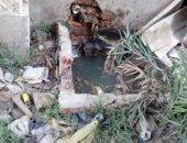 شكوى من انتشار مياه المجارى وتراكم القمامة بمساكن الدلتا فى مدينة السلام