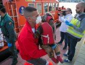 إسبانيا تنقذ 120 مهاجرًا غير شرعى قرب سواحل المغرب