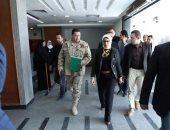 وزيرة الصحة تتفقد أعمال التطوير بمستشفى الفيروز التخصصى بطور سيناء