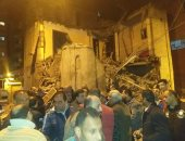 انهيار منزل قديم بدسوق فى كفر الشيخ دون وقوع إصابات.. صور