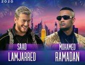 محمد رمضان وسعد لمجرد في حفل غنائي بدبي 10 يناير