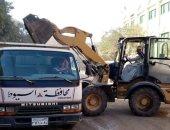 صور.. حملة مكبرة لنظافة وتمهيد وتسوية شوارع قرى منفلوط بأسيوط