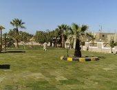 صور.. تطوير حديقة الشماخية فى مدينة البصيلية بأسوان بنصف مليون جنيه