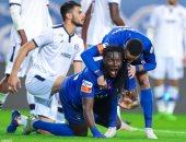 ملخص وأهداف مباراة الهلال ضد العدالة 7-0 في الدوري السعودي