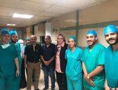 مستشفى المبرة بالشرقية يفحص 860 سيدة فى حملات سرطان الثدى