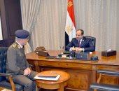 وزير الدفاع مهنئا السيسى بعيد تحرير سيناء: مقتدين بروح أكتوبر فى حماية الوطن