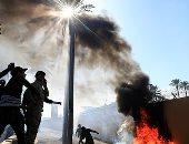 عراقيون غاضبون يحاولون إقتحام السفارة الأمريكية فى بغداد