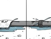 كاريكاتير صحيفة سعودية.. تقاعس بعض المسئولين عن القيام بمهامهم