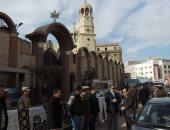 صور.. أمن سوهاج ينهى استعدادات تأمين 353 كنيسة خلال صلاة قداس عيد الميلاد