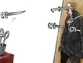كاريكاتير صحيفة أردنية.. الشرق الأوسط يستقبل 2020 بمزيد من الصراعات