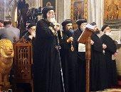 عام ميلادى سعيد.. البابا تواضروس يترأس قداس رأس السنة بالكنيسة المرقسية بالإسكندرية