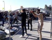 ارتفاع حصيلة الاشتباكات بين الشرطة والمتظاهرين جنوب العراق إلى أربعين مصابا