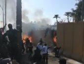 إصابة 4 عناصر أمنية بالعراق عقب سقوط صواريخ كاتيوشا على قاعدة جوية