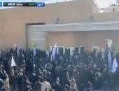 وصول 750 جندياً أمريكياً محيط سفارة الولايات المتحدة فى بغداد لتأمينها