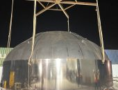إيلون ماسك يكشف عن القبة العملاقة الجديدة لصاروخ المريخ المستقبلي