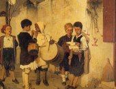 حكاية لوحة فنية يونانية عمرها 147 عاما تظهر فى ليلة رأس السنة
