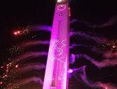 فيديو وصور.. الآلاف فى المحلة يحتفلون برأس السنة الجديدة 2020 بالألعاب النارية