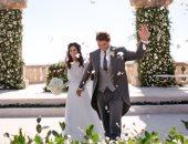 رافائيل نادال يودع 2019 بأول صورة من حفل زفافه.. فستان العروس بتوقيع روزا كلارا