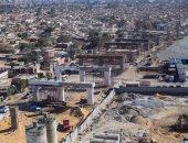 صور.. شاهد ما تم انجازه بكوبرى عين الصيرة فى منطقة الفسطاط بالقاهرة