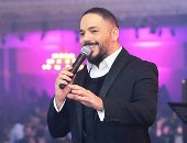 """رامى عياش يتألق فى حفل رأس السنة 2020 فى التجمع بحضور نجوم """"مسرح مصر"""""""