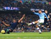 ملخص وأهداف مباراة مانشستر سيتي ضد إيفرتون في الدوري الإنجليزي
