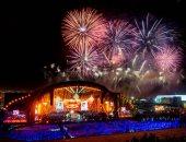 تركى آل الشيخ يحتفل بالعام الجديد بفيديو للألعاب النارية من موسم الرياض