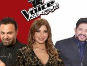 """محمد حماقى وعاصى الحلانى ونانسى عجرم نجوم لجنة تحكيم """"the vois kids"""""""